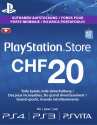 Sony PlayStation Network Card CHF 20.-