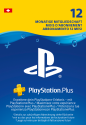 Sony Playstation Plus Abonnement - 1 an