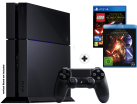 Sony PlayStation 4 1TB, Inkl. LEGO Star Wars + Star Wars 7 Bluray