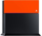 Sony PlayStation 4 HDD Cover, orange