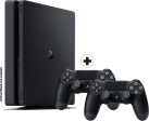 Sony PS4 Slim incl. 2. Manette - Console - 500 Go HDD - noir