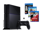 Sony PlayStation 4 500GB inkl.3 gioci