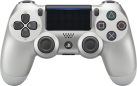 Sony Playstation DUALSHOCK 4 - Wireless-Controller - Redesigned - Silber