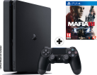 Sony PS4 Slim + Mafia 3 - Console - 1 To HDD - noir - multilingue