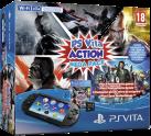 Sony PlayStation Vita Slim Wi-Fi + Memory Card 8GB Mega Pack Action