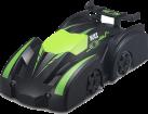 JJRC R/C MINI RACE WALL CLIMBING CAR Q6, Schwarz/grün