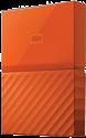 Western Digital My Passport - Disque dur externe - Capacité 1 To - orange