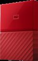 Western Digital My Passport - Disque dur externe - Capacité 1 To - rouge