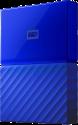 Western Digital My Passport - Externe Festplatte - Kapazität 4 TB - Blau