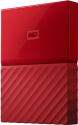 Western Digital My Passport - Externe Festplatte - Kapazität 4 TB - Rot