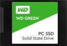 Western Digital Green PC SSD - Disque dur interne SSD - Capacité 120 Go - noir/vert