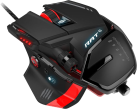 Mad Catz R.A.T.6 - Maus - Laser - Schwarz/Rot