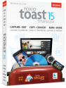 roxio Toast 15 Titanium, Mac, multilingual
