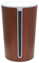 bluelounge CableBin, dunkles Holz