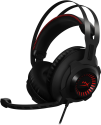 HyperX Cloud Revolver S Gun Metal - Kopfhörer - Virtual Dolby 7.1-Surround-Sound - Schwarz / Rot