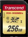 Transcend SDXC UHS-I U3, 256Go