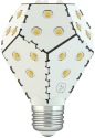 nanoleaf Bloom E27, bianco