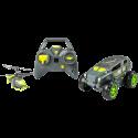 Air Hogs: Shadow Launcher - 2-in-1: Geländefahrzeug und Helikopter - Schwarz/grün