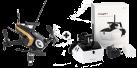 Walkera Rodeo 150 Black Devo 7 RTF - Drohne - Mit Devo 7 Fernsteuerung und Goggle 4 FPV-Brille - Schwarz/Gold
