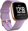 fitbit versa: Special Edition - Smartwatch - Gesundheits- & Fitness-Tracking - Roségold/Lavendel