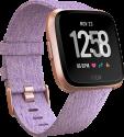 fitbit versa: Édition spéciale - Smartwatch - Suivi de la forme et du sport - Or rose/Lavande