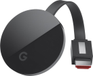 Google Chromecast Ultra - Streaming-Stick - 4K Ultra HD Auflösung - Schwarz