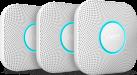 Nest Protect Smoke Detector S3006BWDE - 3 pezzo - Rilevatore di fumo - Bianco