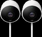 Nest Cam Outdoor NC2400DE - 2 Stück - Weiss
