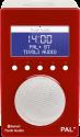 Tivoli Audio PAL+ BT, rot/weiss