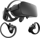 Oculus Rift + contrôleur - Lunettes VR - 2160 x 1200 pixel - Noir