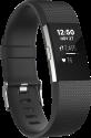 fitbit Charge 2 - Braccialetti per l'attività fisica - L - nero/argento