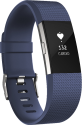 fitbit Charge 2 - Activity-Armband - L - Blau/Silber