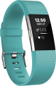 fitbit Charge 2 - Activity-Armband - L - Türkis/Silber