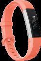 fitbit Alta HR - Activity-Armband - Grösse L - Koralle/Silber