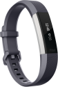 fitbit Alta HR - Activity-Armband - Grösse L - Grau/Silber