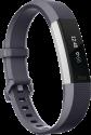 fitbit Alta HR - Activity-Armband - Grösse S - Grau/Silber