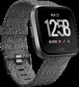 fitbit versa: Édition spéciale - Smartwatch - Suivi de la forme et du sport - Graphite/Charbon