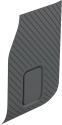 GoPro Replacement Side Door (für HERO5 Black) - klar