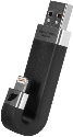 leef iBridge, 16GB, schwarz