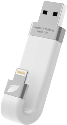 leef iBridge, 128GB, weiss