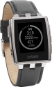 pebble Steel Watch, silber