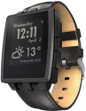 pebble Steel Watch, noir