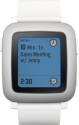 Pebble Time, weiss