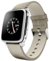 Pebble Time Steel, argent