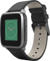 Pebble Time Steel, schwarz