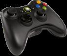 Microsoft Xbox360 Wireless Controller, noir