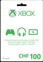 Microsoft Xbox Live Guthabenkarte CHF 100.-