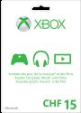 Microsoft Xbox Live Guthabenkarte CHF 15.-