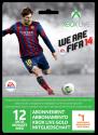 Microsoft Xbox Live Gold 12 Monate inkl. 1 Monat Fifa 14