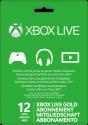 Microsoft Xbox Live Gold 12 Mois